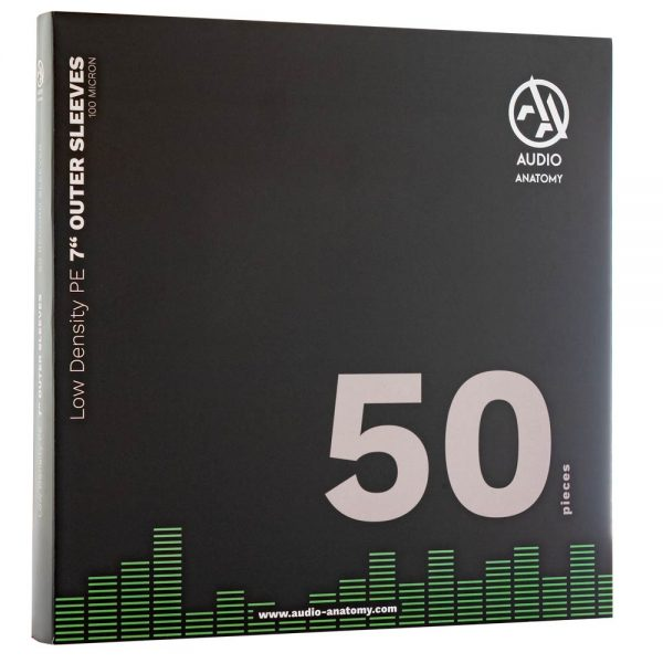 MUSIC PROTECTION – OUTER SLEEVES LOW DENSITY PE 7′ 50 KOM