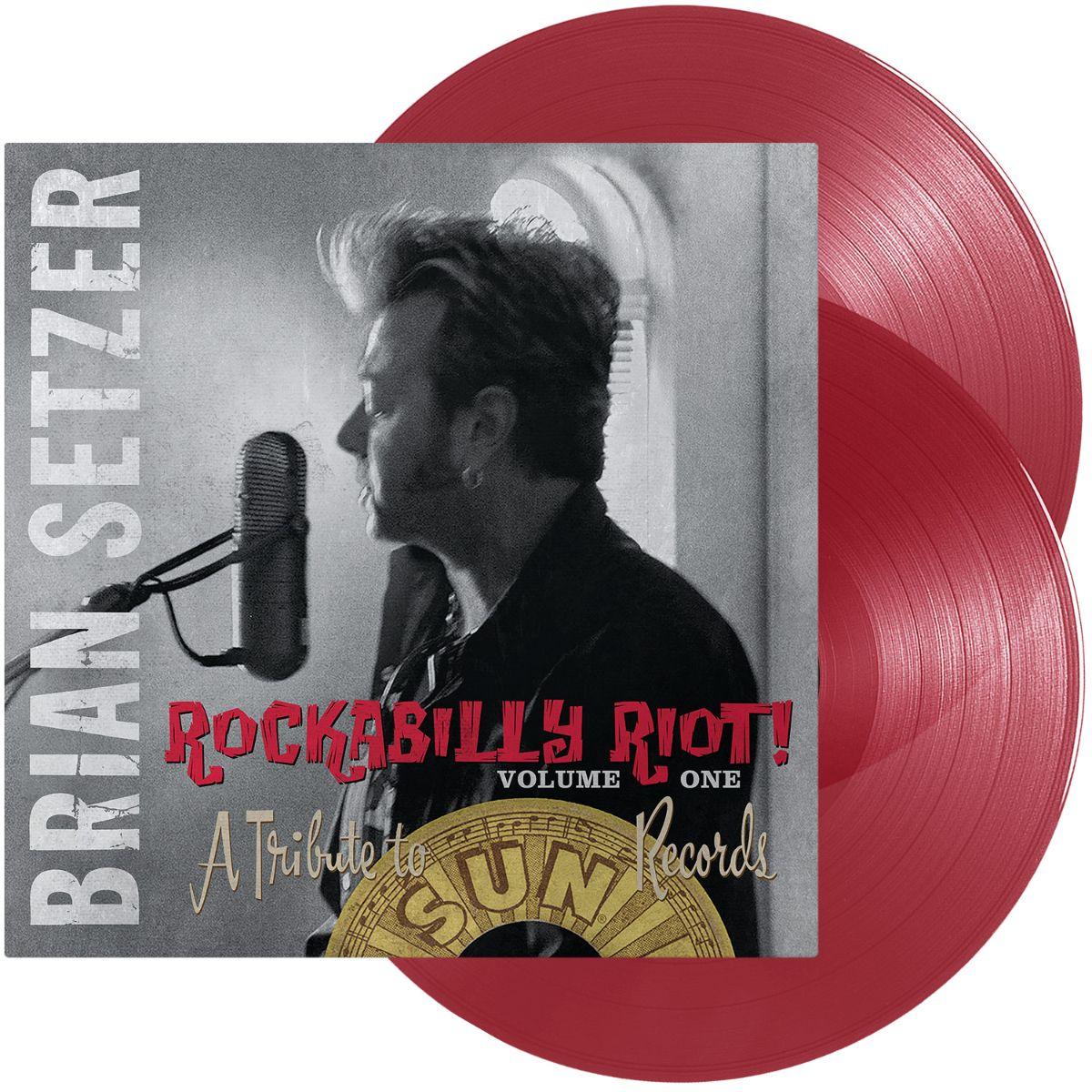 """Rockabilly Riot! Volume One"" Briana Setzera povodom 16. obljetnice dostupan na ekskluzivnom crvenom vinilu"