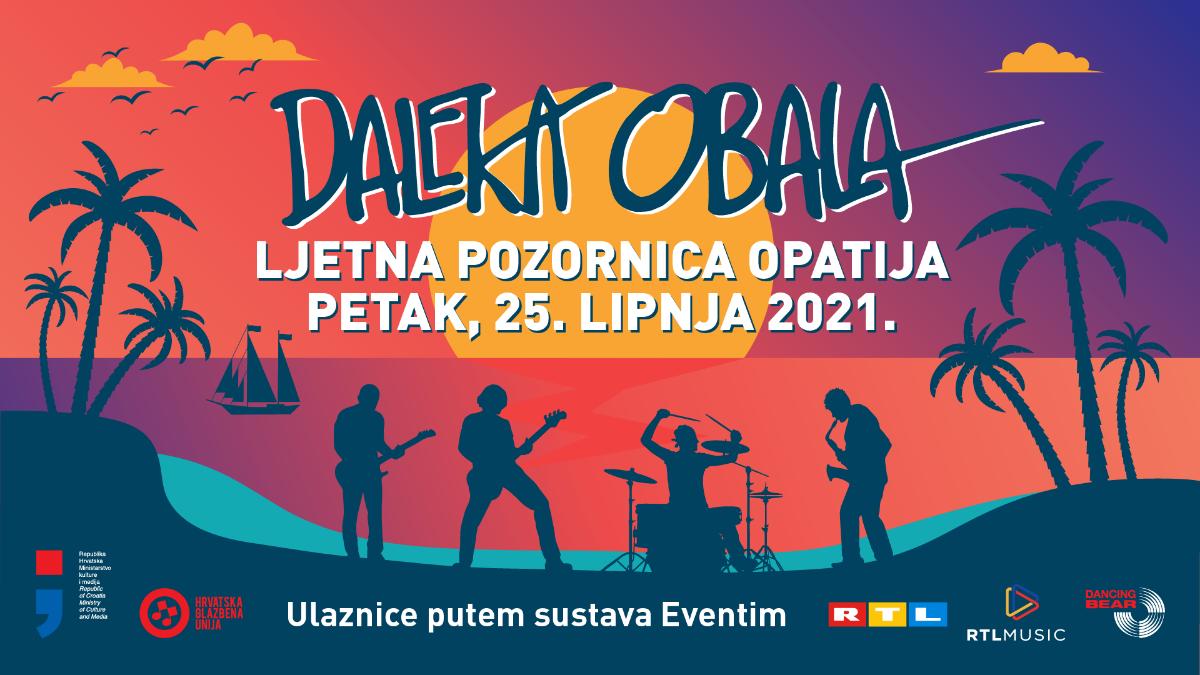Daleka obala počastit će nas dugoočekivanim koncertom u Opatiji za točno tjedan dana