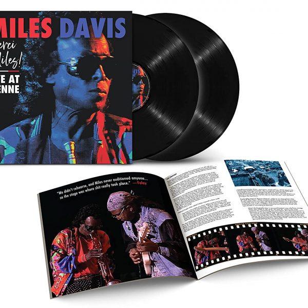 DAVIS MILES – MERCI, MILES! LIVE AT VIENNE  LP2