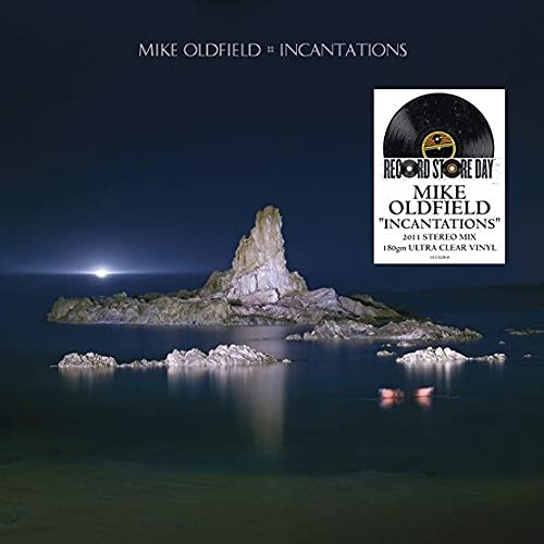 OLDFIELD MIKE – INCANTATIONS ultra clear vinyl RSD 2021 LP2