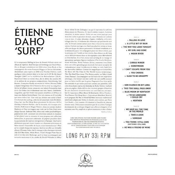 DAHO ETIENNE – SURF volumes 1 & 2 LP2