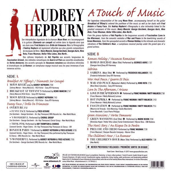 V./A. – AUDREY HEPBURN A TOUCH OF MUSIC LP