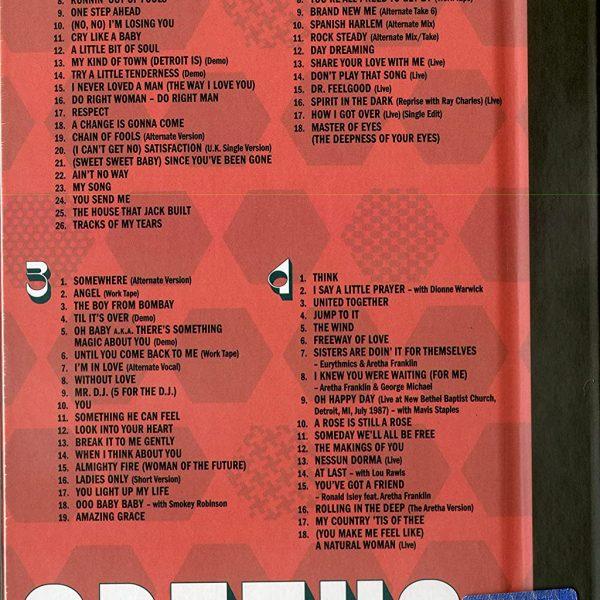 FRANKLIN ARETHA – ARETHA CD4