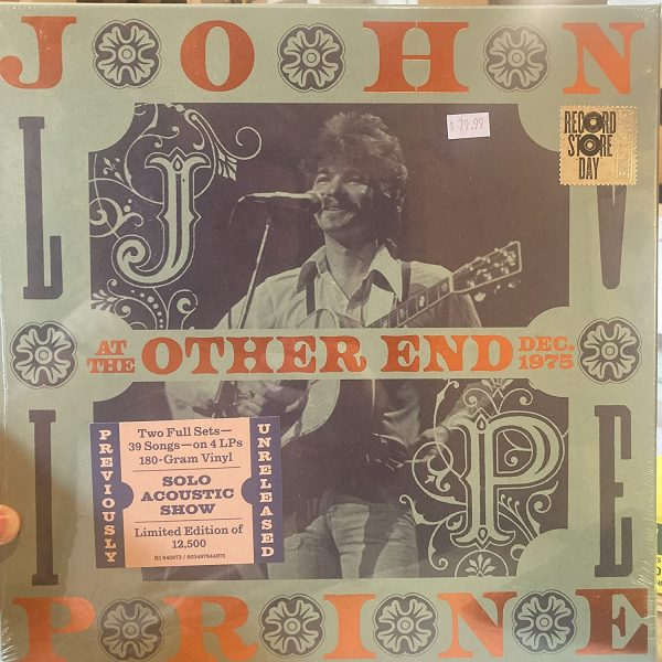 PRINE JOHN – LIVE AT THE OTHER END RSD 2021 LP4