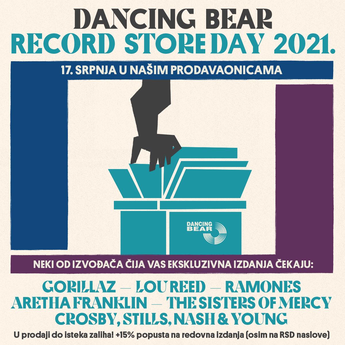 Drugi dio Record Store Day u Dancing Bearu