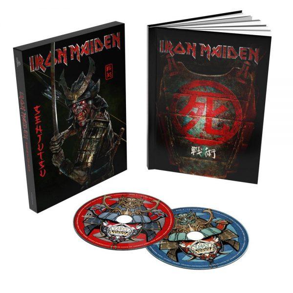 IRON MAIDEN – SENJUTSU  Casebound Book Deluxe 2CD