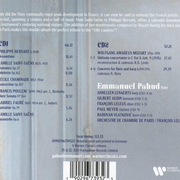 PAHUD EMMANUEL – MOZART & FLUTE IN PARIS CD2