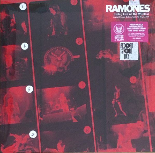 RAMONES – TRIPLE J LIVE AT THE WIRES RSD 2021 LP