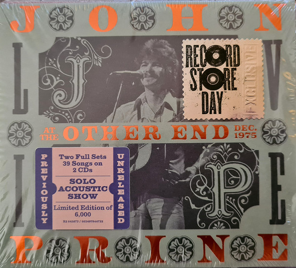 PRINE JOHN – LIVE AT THE OTHER END RSD 2021 CD2