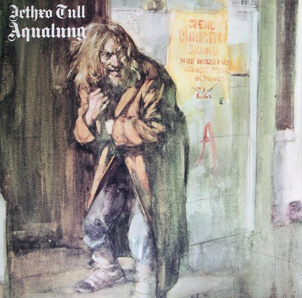 JETHRO TULL – AQUALUNG clear vinyl LP