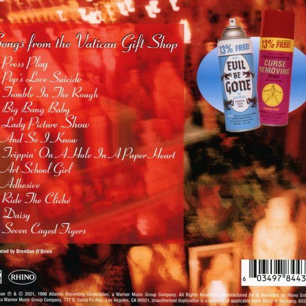 STONE TEMPLE PILOTS – TINY MUSIC CD