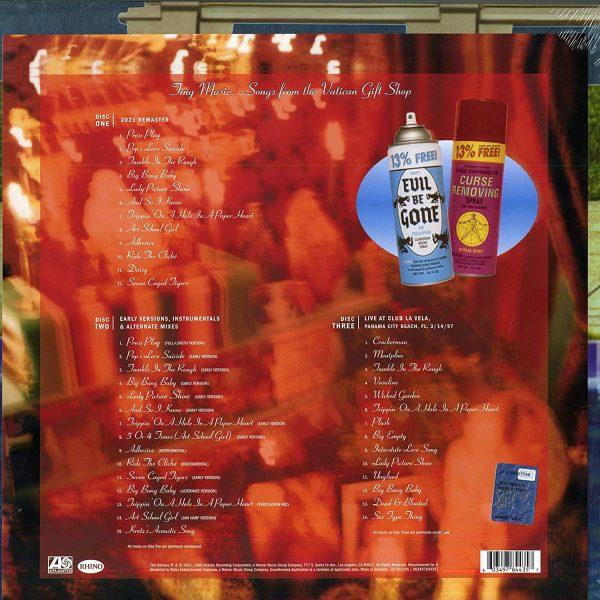 STONE TEMPLE PILOTS – TINY MUSIC 25th anniversary super delux edition BOX