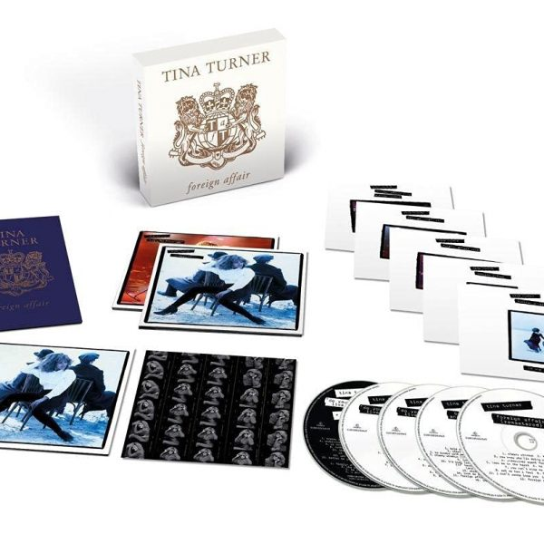 TURNER TINA – FOREIGN AFFAIR deluxe edition CD4D
