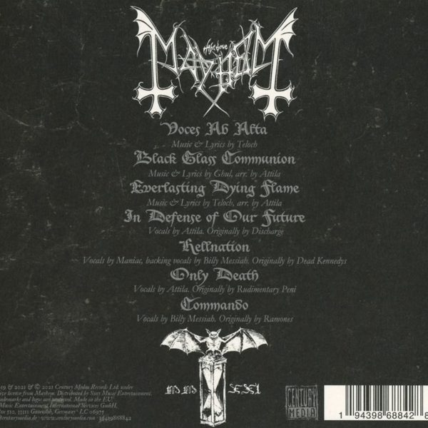 MAYHEM – ATAVISTIC BLACK DISORDER EP CD