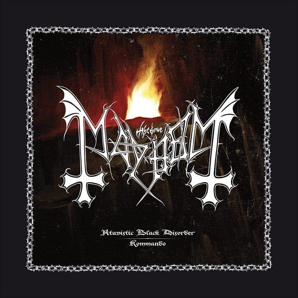 MAYHEM – ATAVISTIC BLACK DISORDER KOMMANDO 12″ EP