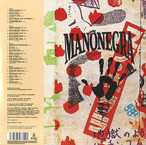 MANO NEGRA – IN THE HELL OF PATCHINKO LP2CD