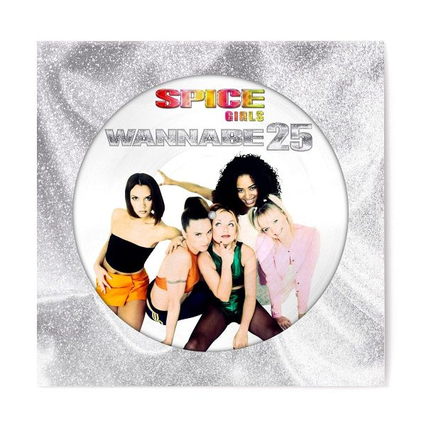 SPICE GIRLS – WANNABE 25 picture disc 12″ EP