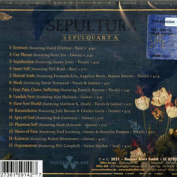 SEPULTURA – SEPULQUARTA CD