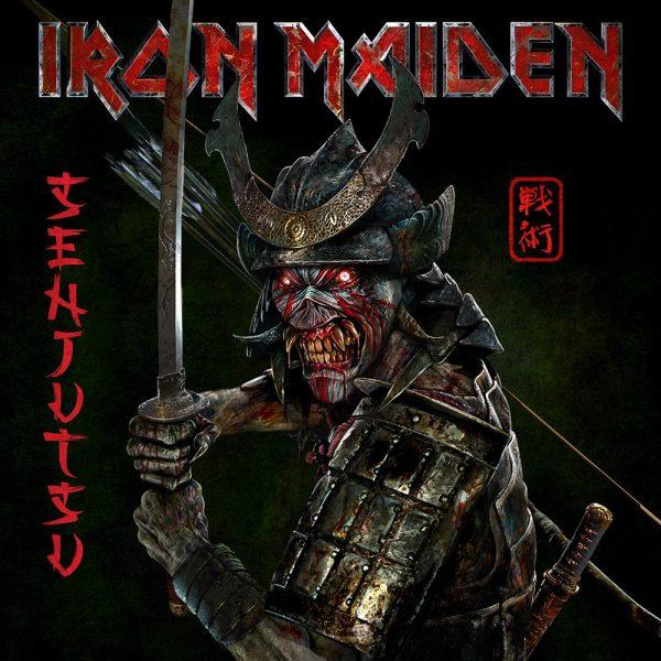 IRON MAIDEN – SENJUTSU  LP3 VINYL red marbled