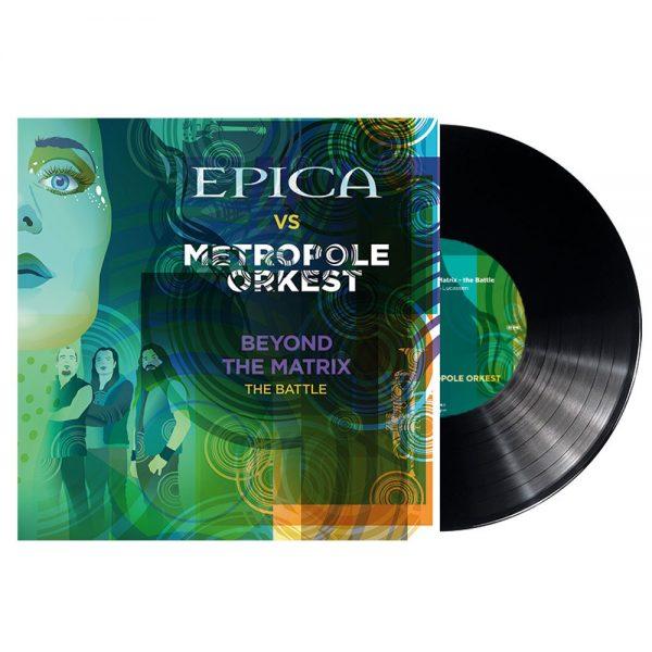 EPICA – BEYOND THE MATRIX THE BATTLE 10″ SINGLE