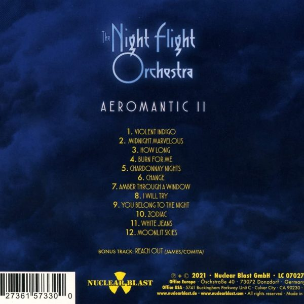 NIGHTFLIGHT ORCHESTRA – AEROMANTIC II