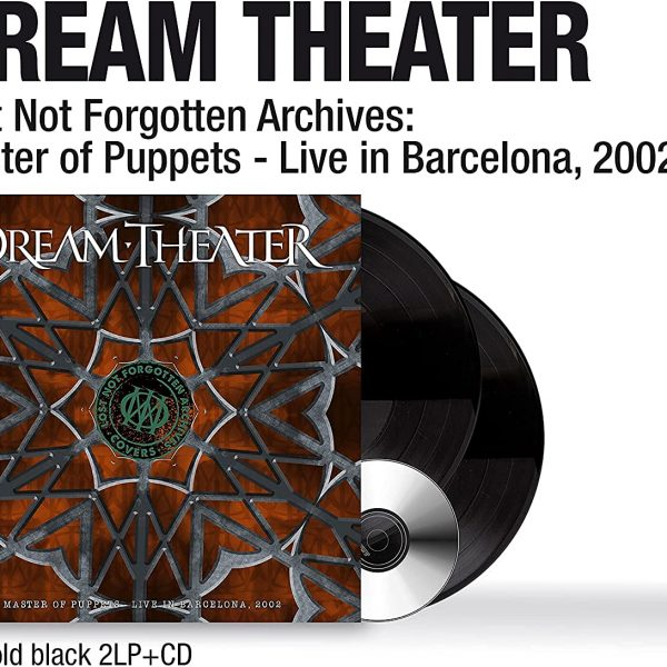 DREAM THEATER – MASTER OF PUPPETS LIVE IN BARCELONA 2002 LP2CD