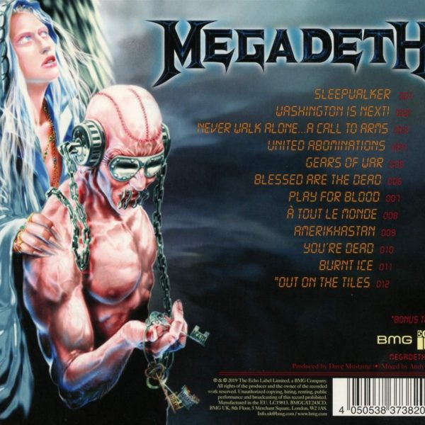 MEGADETH – UNITED ABOMINATIONS CD