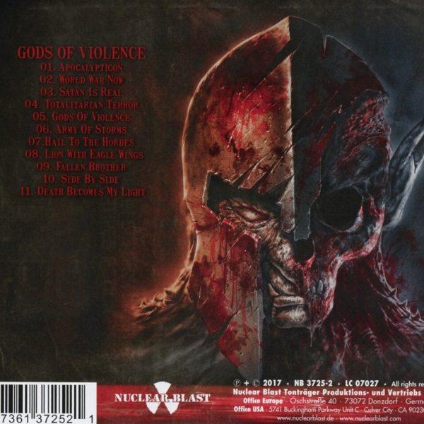 KREATOR – GODS OF VIOLENCE  CD