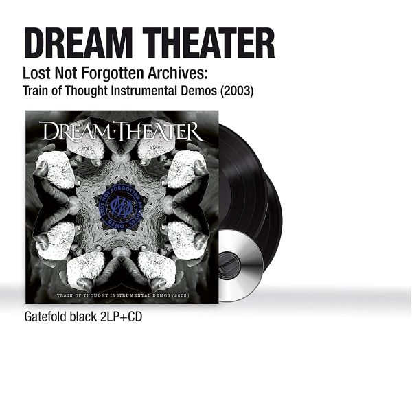 DREAM THEATER – TRAIN OF THOUGHT INSTRUMENTAL DEMOS 2003 LP2CD