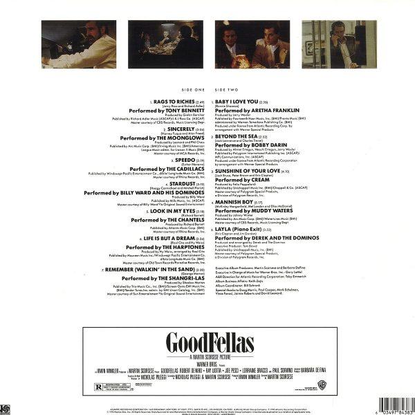 O.S.T. – GOODFELLAS blue vinyl  LP