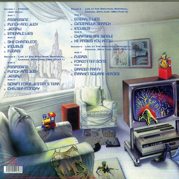 MARILLION – FUGAZI limited edition LP4