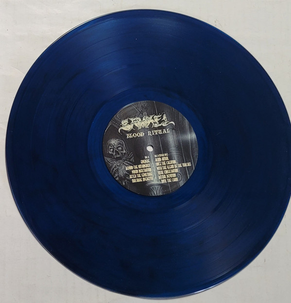 SAMAEL – BLOOD RITUAL blue vinyl LP