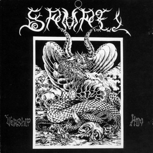 SAMAEL – WORSHIP HIM grey vinyl LP