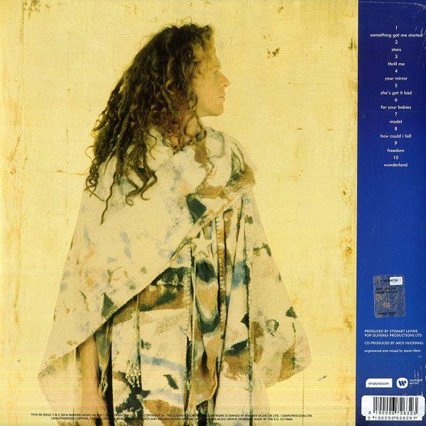SIMPLY RED – STARS blue vinyl LP