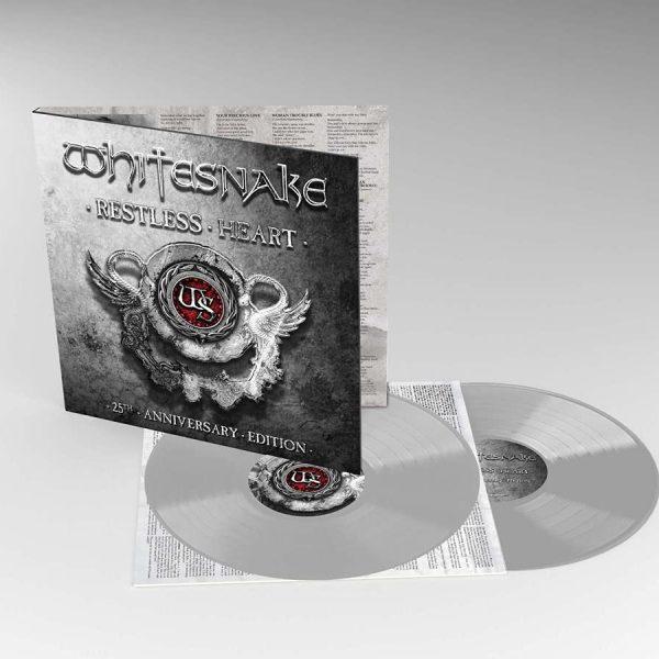 WHITESNAKE – RESTLESS HEART (silver)  LP2