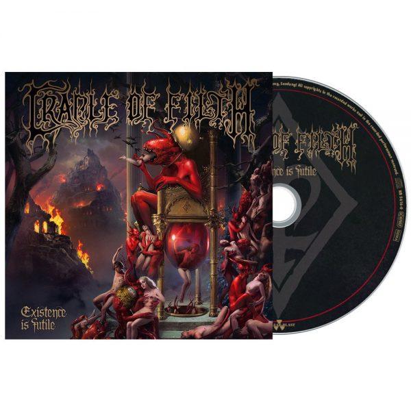 CRADLE OF FILTH – EXISTENCE IS FUTILE digi CD