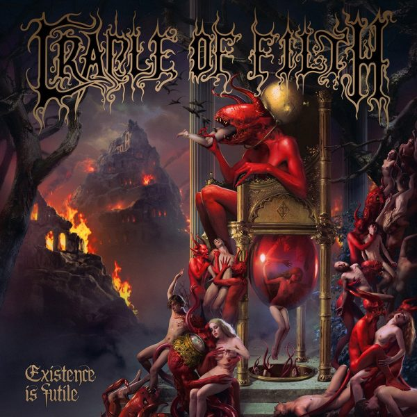 CRADLE OF FILTH – EXISTENCE IS FUTILE CD