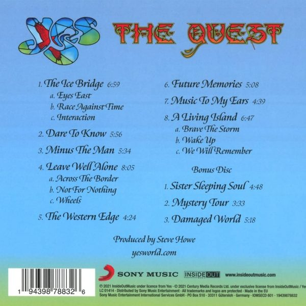 YES – QUEST CD2