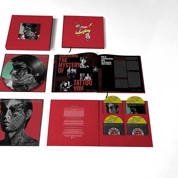 ROLLING STONES – TATTOO YOU 40th anniversary CD4