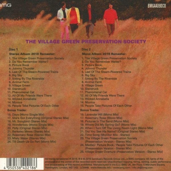 KINKS – ARE THE VILLAGE GREEN… 50 anniversarydeluxe edition cd2