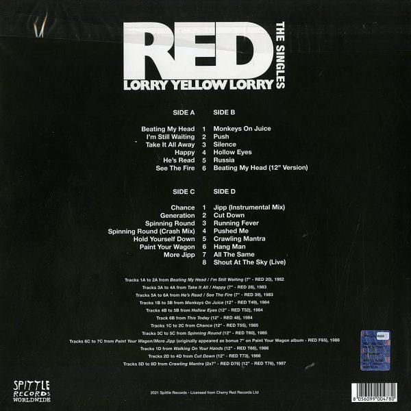 RED LORRA YELLOW LORRY – SINGLES LP2