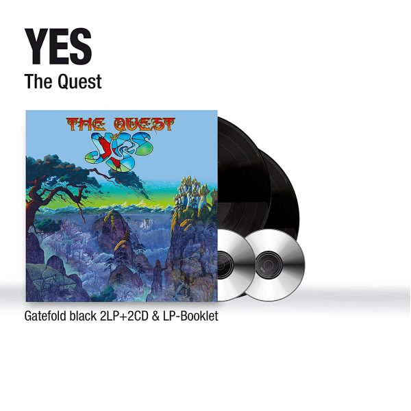 YES – THE QUEST LP2CD2