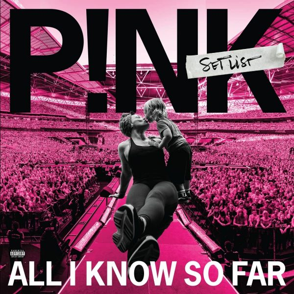 PINK – ALL I KNOW SO FAR LP