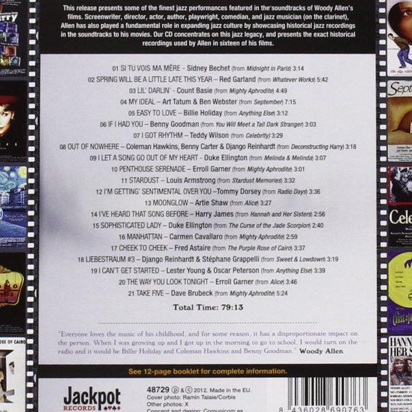 O.S.T. – SWING IN THE FILMS OF WOODY ALLEN…CD