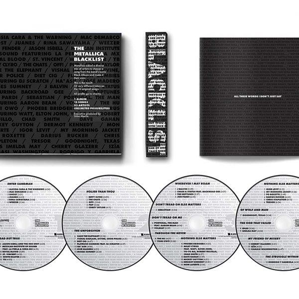 V./A. – METALLICA BLACKLIST box CD4