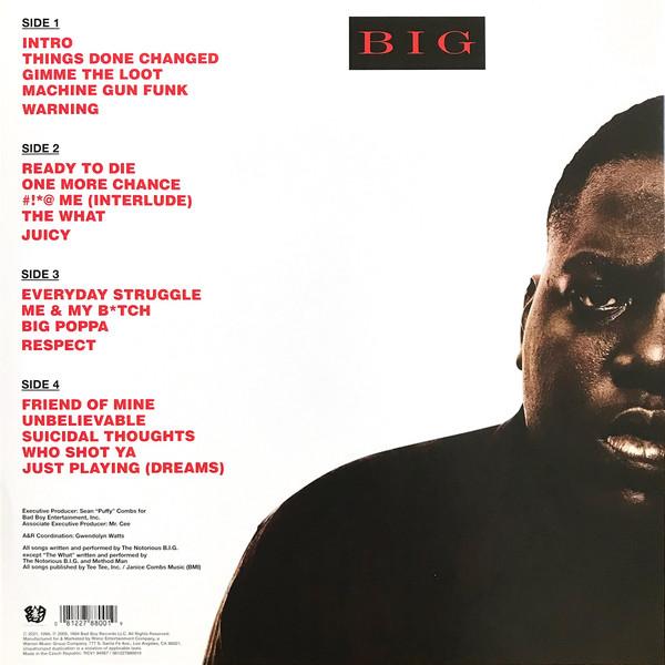 NOTORIUS B.I.G. – READY TO DIE silver vinyl LP2