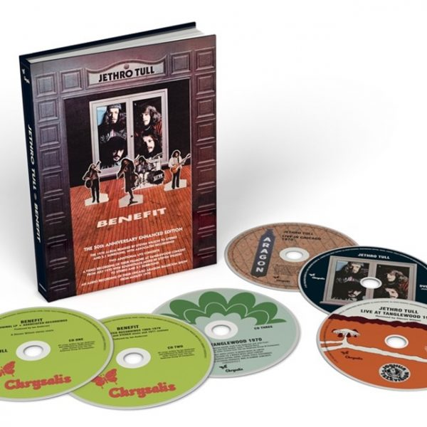 JETHRO TULL – BENEFIT 4CD+2DVD
