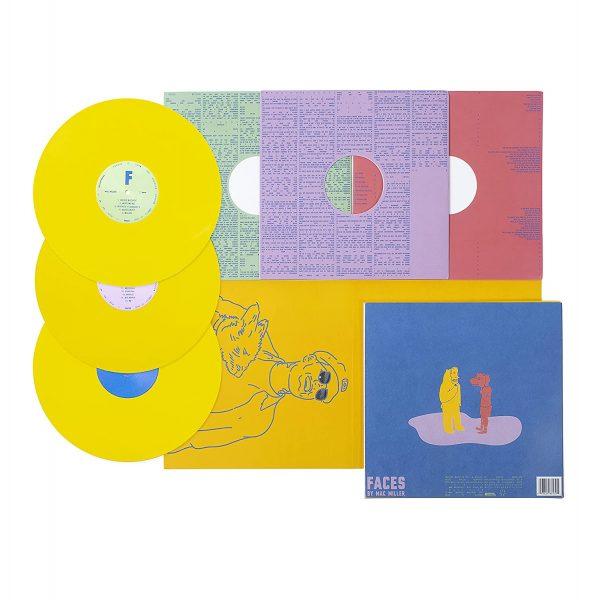 MILLER MAC – FACES yellow edition Vinyl LP2