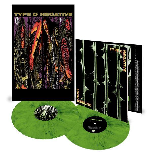 TYPE O NEGATIVE – OCTOBER RUST (coloured) LP2